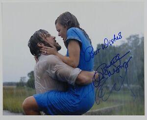 The Notebook Rachel McAdams Ryan Gosling Autograph JSA 8 x 10 Signed photo
