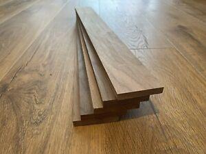 Walnut Timber Offcuts 5 Pieces @ 500mm x 60mm x 10mm (American Black Walnut)