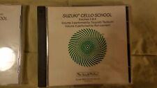 Cello School Volumes 3 & 4 - Cd by Tsutsumi Suzuki School Cello