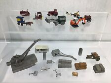 More details for quantity n gauge accessories tractor fork lift crane etc for model railway #635