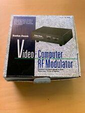 Video-Computer RF TV Modulator VHF Converter 15-1283 By Radio Shack