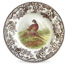 "== Spode Woodland 10.5"" Pheasant Plate Microwave Dishwasher Safe Dinner Plate"