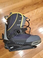 K2 Clicker Snowboard Bindings and Snowboard Boots (Men's Size 11)