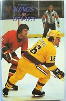Vintage L.A. Kings Media Guide ~ 1978-1979 ~ Marcel Dionne Cover ~ NHL Hockey