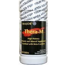 Major Thera-M Multivitamin Tablet 130ct
