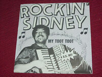 "Rockin' Sidney:  My Toot Toot   1985   7""  NEAR MINT EX SHOP STOCK"