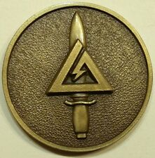 Delta Force Elite Tier 1 CAG Army Special Forces Challenge Coin /  Bronze