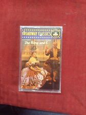 Rodgers & Hammerstein Golden Anniversary The King And I Soundtrack Cassette Tape