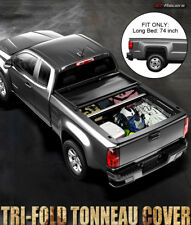 2015-2018 CHEVY COLORADO CANYON WITH 6 FEET LONG BED TRI-FOLD SOFT TONNEAU COVER