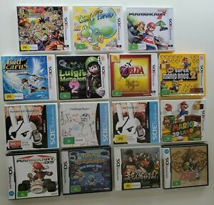 Nintendo DS and 3DS games - various titles!