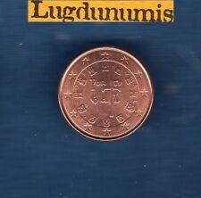 Portugal - 2005 -  1 centime d'euro - Pièce neuve de rouleau -
