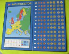 Coffret  EURO COLLECTOR composé de 96 pieces de 12 pays de l euro !  complet  !!