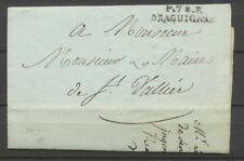 1806 Lettre Marque Linéaire P78P Draguignan VAR(78) Indice 12 X2358