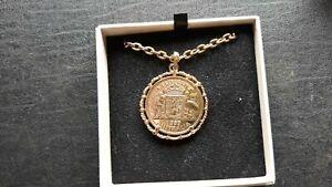 Australian neck chain 1953 gold plate see photos two bob