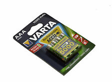 Varta Rechargeable NiMH Battery AAA 1.2 V 1000 mAh 4-Blister ACCU Ready2Use