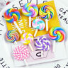 10 pcs Handicraft Cabochons 2-4cm Polymer Clay Lollipop Flatbacks Decorations