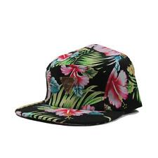 b22c8942505 Hater Floral Hawaii Pattern 5 Panel Strapback Hat