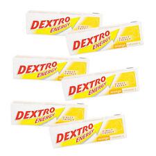 DEXTRO Energy Orange & Lemon Tabs 14 x 47G x 6 Packs