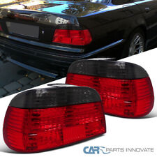 For BMW 95-01 E38 7-Series Red/Smoke Tail Lights Parking Brake Lamps Left+Right