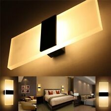 LED Wall Light Up Down Cube Indoor Outdoor Sconce Lighting Lamp Fixture Decor