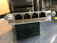 Cisco HWIC-4ESW, 4 Port 10/100 Ethernet Switch Interface Card w/ HOLOGRAM