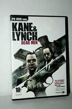 KANE & LYNCH DEAD MEN GIOCO USATO BUONO STATO PC DVD VERSIONE ITALIANA RS2 41086