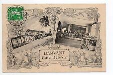 SUISSE SWITZERLAND Canton du JURA DAMVANT le café bel air 2 belles vues