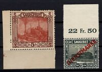 S138505/ SAAR FRENCH OCCUPATION / Y&T # 100 – OFFICIAL # 14 MINT MNH