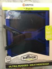 Griffin Survivor Series Case for iPad Air - Blue NEW IN BOX
