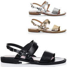 Buckle Flat (0 to 1/2 in.) Unbranded Sandals & Flip Flops for Women