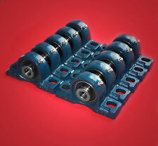 10 Gehäuselager / Stehlager / Stehlagereinheit UCP 207 / 35 mm Wellendurchmesser