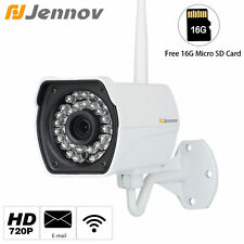 HD 720P Wireless 1280x720 16G Outdoor Onvif P2P WiFi Network Security IP Camera