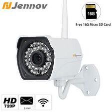 HD 720P Wireless 1280x720 16G Outdoor Onvif P2P WiFi Network Security IP Camera