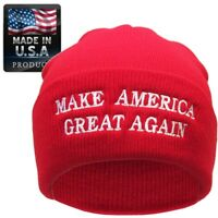 Make America Great Again Donald Trump Knit Skull Cap Hat Beanie