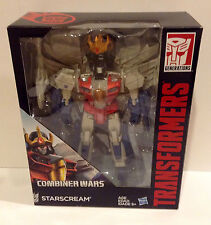 Transformers COMBINER WARS Decepticon Starscream Leader Class NEW MIB