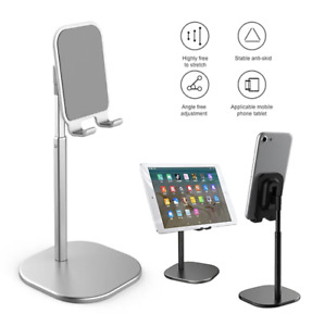 Height-Adjustable Cell Phone Holder Stand iphone ipad table Mount Desktop Sten