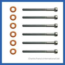 Mercedes E320 CDI Common Rail Diesel Injector Bolt & Washer Seal Kit x 6
