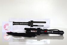 NEW Enzo Milano Bi-Tube Professional Clipless Curling Iron #BI1316B Vintage Curl