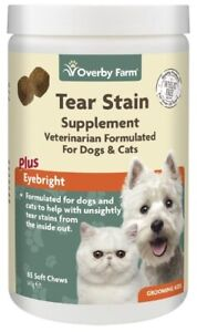 65pcs Tear Stain Soft Chews For Cats And Dogs