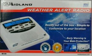 NOAA Emergency Weather Alert Radio, S.A.M.E. Programming, Midland - WR120B