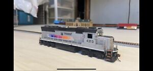 HO Scale NJ Transit GP40