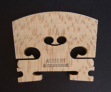 Aubert aged maple uncut violin bridge blank 1/4 size made in France free postage