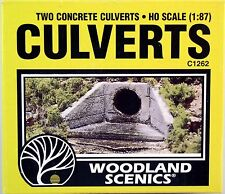 Woodland Scenics Ho/Hon3 Concrete Culverts (1262)