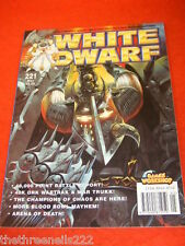 WHITE DWARF MAGAZINE - MAY 1998 # 221
