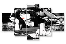 Quadro Moderno 5 pz. PULP FICTION cm 150x90 arredamento arredo stampa su tela
