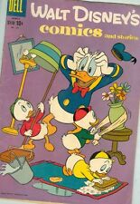Walt Disney Comics and Stories #222 March 1959 G/VG Barks art