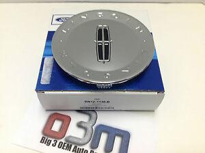 "Lincoln MKX / Town Car 18"" & 20"" Wheel Chrome CENTER Hub CAP new OEM 9W1Z-1130-B"