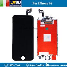 Apple TPI6sb Schermo con Touchscreen Vetrо per iPhone 6s Nero