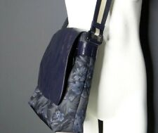 Coach Men's Charles Blue Hawaiian Messenger Bag A1780- F59301