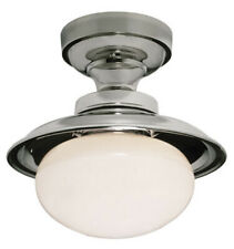 "Urban Archaeology 10.5"" Factory Flushmount Interior Ceiling Light Lamp"